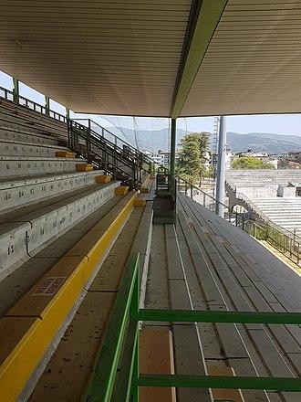 Stadio Marcello Melani - Image: Stadio Marcello Melani, Pistoia, Italy