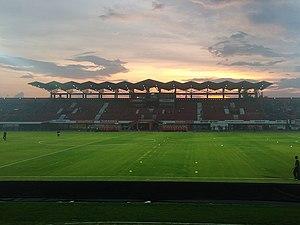 Bali United F.C. - Kapten I Wayan Dipta Stadium in 2017.