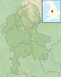 River Blithe is located in Staffordshire