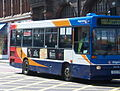 Stagecoach bus 32125 Dennis Dart Plaxton Pointer K125SRH in Newcastle 9 May 2009.jpg