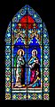 Stained-glass windows of the St Gerald abbey church of Aurillac 04.jpg