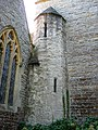 Stair turret, St Mary's, Hasfield - geograph.org.uk - 987199.jpg