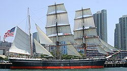 Die Star of India in San Diego