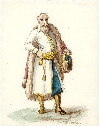 Starostwo - Starosta, by Kanuty Rusiecki, 1823