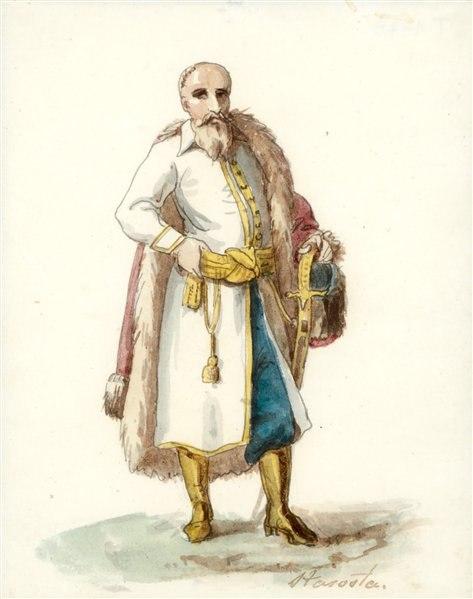 Starosta. Староста (K. Rusiecki, 1823)