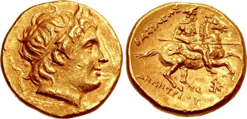 Stater, 289-288, Demetrius Poliorketes - Macedonia