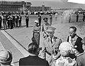 Statiebezoek koning Boudewijn , aankomst op Schiphol, Bestanddeelnr 910-5000.jpg