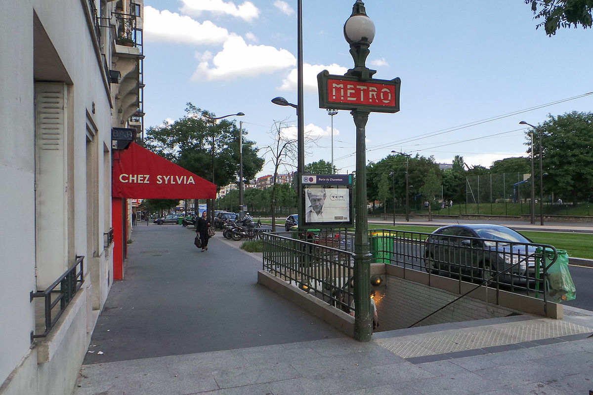 Porte de charenton m tro de paris wikip dia - Porte de charenton metro ...