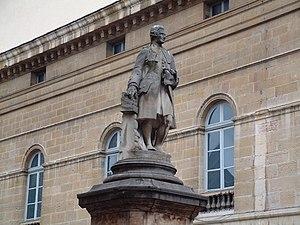 Statue de Jean-Philippe Rameau à Dijon prise l...