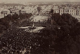 Victoria Square, Adelaide - Ceremony to mark the unveiling of the statue of Queen Victoria in Victoria Square on 11 August 1894.