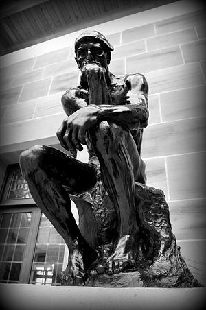 Burrell Collection - Statue of The Thinker, 1880 CE