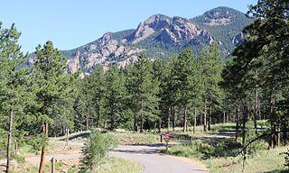 Staunton State Park park in Pine, Colorado