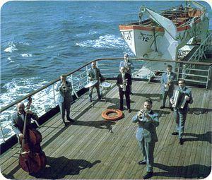 TSS Stefan Batory - Stefan Batory's orchestra.