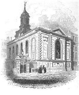 St Stephen Coleman Street Church in London