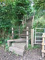 Steps on public footpath, Sturminster Newton - geograph.org.uk - 942461.jpg
