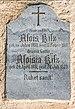 Steuerberg Wachsenberg Pfarrkirche hl. Andreas Apsiswand Grabstein Fam. Kilz 24092021 1472.jpg