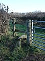 Stile leading to Rowberry Farm - geograph.org.uk - 318758.jpg