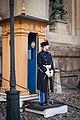 Stockholm Royal Palace guard - January 2018.jpg