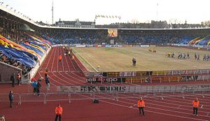 Stockholm Bauhaus Athletics - The host stadium – Stockholm Olympic Stadium