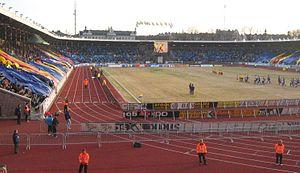 Djurgårdens IF og IFK Göteborg spiller på Stockholms Stadion.