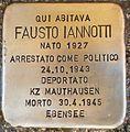 Stolperstein Fausto Iannotti nach der Reinigung.jpg