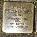 Stolperstein Gelsenkirchen Arminstraße 3 Werner de Vries.JPG