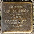 Stolperstein Sanderstr 28 (Neuk) Gertrud Tikotin.jpg