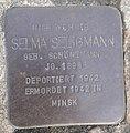 Stolperstein Windeck Rosbach Mittelstraße 20 Selma Seligmann.jpg