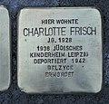 Stolperstein für Charlotte Frisch, Wiesenstraße 10, Chemnitz.JPG
