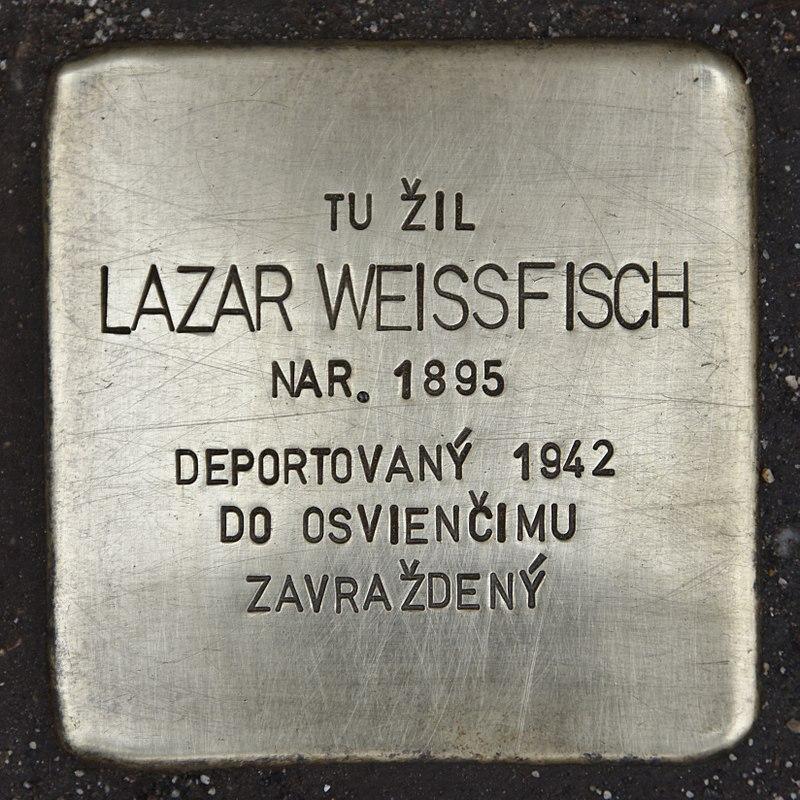 Stolperstein für Lazar Weissfisch.jpg