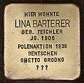Stolperstein für Lina Barterer (Cottbus).jpg