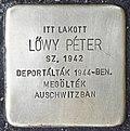 Stolperstein für Peter Löwy (Miskolc).jpg