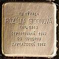 Stolperstein für Rozalia Sidonova.jpg