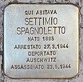 Stolperstein für Settimio Spagnoletto (Rom).jpg