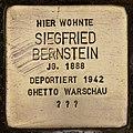 Stolperstein für Siegfried Bernstein (Cottbus).jpg