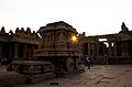 Stone Chariot- Hampi during Sun Set.jpg