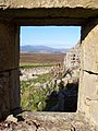 Stone window frame at ruined Blawearie - geograph.org.uk - 1484545.jpg