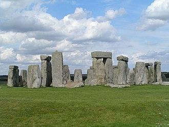 Salisbury Plain - Stonehenge, on Salisbury Plain