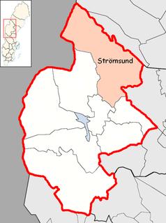 Strömsund Municipality Municipality in Jämtland County, Sweden