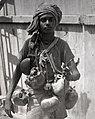 "Strand Road, Kolkata in 1944, ""Hindu ""Holy Man""""(BOND 0003) (cropped).jpeg"