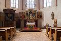 Strasbourg Sainte-Madeleine chœur gothique et orgue André Silbermann 1719.jpg