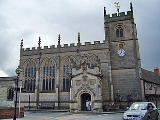 Guild Chapel - The chapel from Church Street