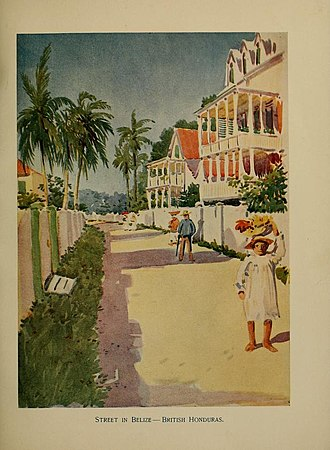 United Fruit Company - An illustration from The Golden Caribbean