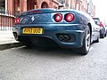 Streetcarl Ferrari 360 modena spyder blue (6435547305).jpg
