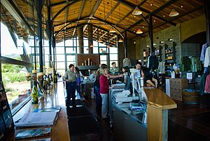 Stryker Sonoma Winery tasting room in Alexande...