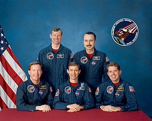 STS-28 - Image: Sts 28 crew
