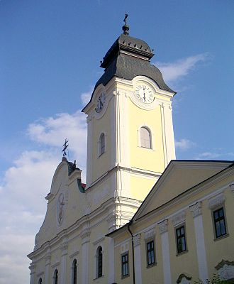 Levoča - Tower of the Church of the Holy Spirit