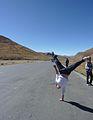 Student performing handstand in Tibet.jpg