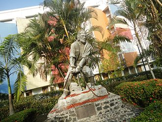 University of Sri Jayewardenepura - Students Hero Statue Sri Jayewardenepura University Sri Lanka