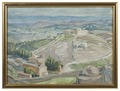 Study from Gethsemane (Anna Boberg) - Nationalmuseum - 20536.tif